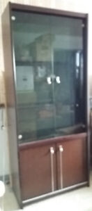 CHERRY DINETTE set, Dining Table, Chairs, 3 Cabinets, 8 pieces
