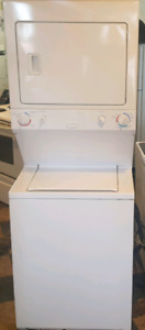 Frigidaire laundry center washer dryer works great