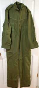 """Canadian Army Tactical Zipper AFV Coveralls OD Green in 36"""" Ches"""