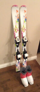 Techno Girls' Skis and Boots