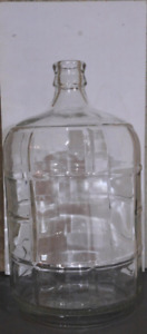 Small. 11.3 litre wine making carboy with airlock