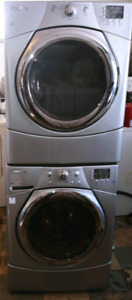 Whirlpool front load washer and dryer set both work good