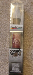 Dupli-Color. Scratch Fix All in 1. Touch-up paint. Blaze Red.