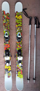 Great skis, boots and poles for the junior shredder - 130cm