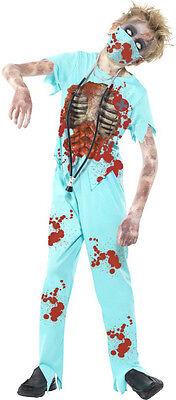 Zombie Chirurg Kostüm NEU - Jungen Karneval Fasching Verkleidung Kostüm