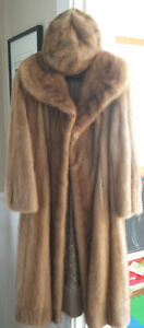 Vintage fur salon Mink coat and hat. $1000 or best offer