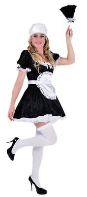 Zimmermädchen Hausmädchen Kostüm Kleid French Maid Dienstmädchen Mädchen