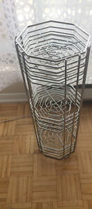 Heavy duty 3 tire plant stand   26 inch high