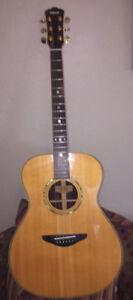 Yamaha LS-500 acoustic guitar