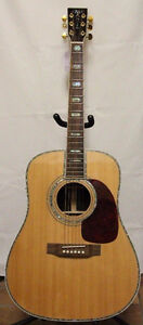 Martin D-45 Acoustic Electric Guitar Reproduction Used + Case