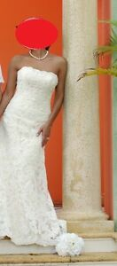 Maggie Sottero Lace Wedding Gown for Sale