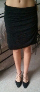 Tricotto Black Skirt