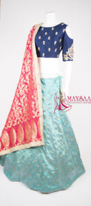 SAREES-LEHENGA-PUNJABI-KURTI-ANARKALI-INDIAN DRESS-READY BLOUSE!