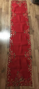 3 pc Christmas Table runners