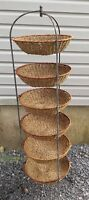 6 BASKET RETAIL DISPLAY STAND - GREAT FOR MULTIPLE ITEMS