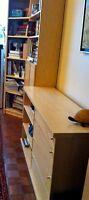 3 PC IKEA WALL UNIT