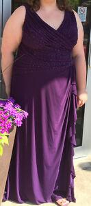 Dark Purple Grad Dress