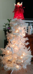 A Little White Christmas Tree