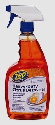 32oz ZEP Heavy Duty Citrus Degreaser Cleaner Removes Oil Gre