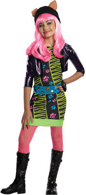 Girls Child Monster High School 13 Wishes Howleen Wolf Costume Outfit](Monster High Costumes 13 Wishes)