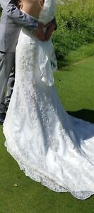 *Reduced!* Vintage designer wedding gown