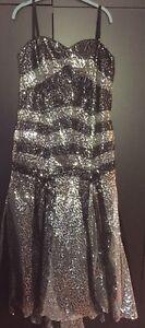 Belle robe de bal