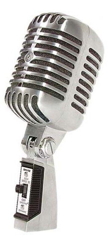 shure 55sh series ii cardioid dynamic nostalgic microphone 42406051811 ebay. Black Bedroom Furniture Sets. Home Design Ideas