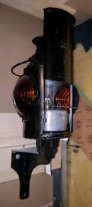 antique CNR switch lantern and wall bracket