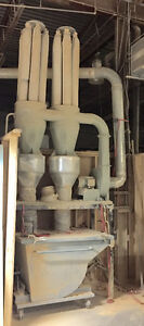 5 hp kreamer cyclone dust collector for sale