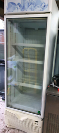 Framec commercial upright display Freezer fully working good condition