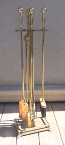 Art deco fireplace tools - priced to sell fast