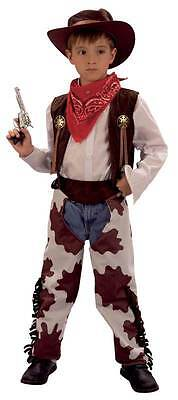 COWBOY AND COWPRINT CHAPS (LARGE),CHILDS FANCY DRESS COSTUME,KIDS BOOK WEEK #US