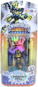Chill and Legendary Chill Skylanders Giants