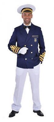 Kapitän Jacke Matrosen Kostüm Jacket Marine Seemann Captain Uniform - Marine Kapitän Uniform Kostüm