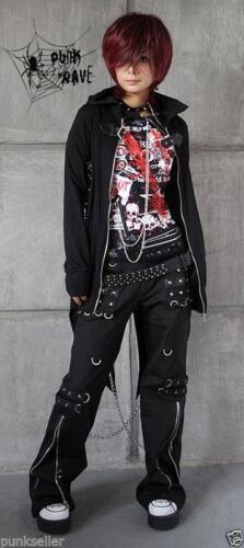 Mens Gothic Smart womens harem pants Trousers hip hop Casual Visual Kei Rock New