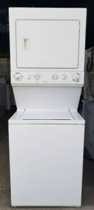 Frigidaire Stacked Washer Electric Dryer, 1 year  warranty