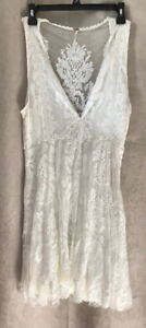 Free People Off-white Lacey Dress