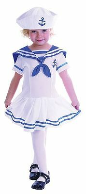 SAILOR GIRL KOSTÜM, KLEINKIND, MÄDCHEN KOSTÜME, IM ALTER - Kleines Mädchen Sailor Kostüme