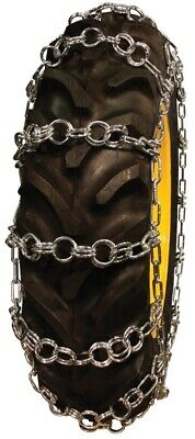 Double Ring Pattern 18.4-38 Tractor Tire Chains - Nw789