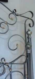 Pewter Double Bed - Head & Foot Frame West Island Greater Montréal image 4