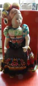 Hungarian Culture Dolls - purchased 1957