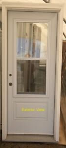 """Flush Entry Door (32"""" x 80"""") with Full Frame and Venting Doorlit"""
