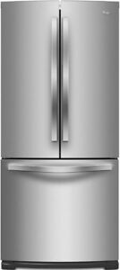 "Whirlpool WRF560SFYM 30"" French Door Refrigerator, 20.0 cu.ft"