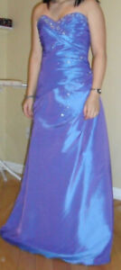 Violet Strapless Prom Dress size: Small (4 , 6)