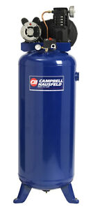Campbell Hausfeld 3.2hp 220V 60 Gal Compressor & Fittings