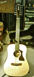 Guild 12 String GAD G212 with Fishman 2 Pickup