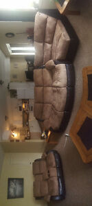 New reclining sectional sofa