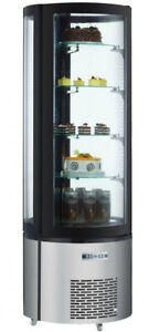 Standing Circular glass Display fridge****Brand New****