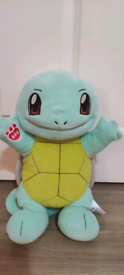 Build a bear Squirtle Pokemon plush teddy soft toy