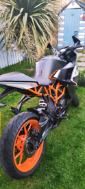 KTM RC 125cc Motorcycle For Sale!
